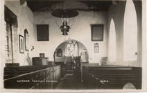 Todwick Church Interior 1905